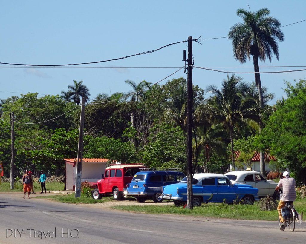 Playa Larga Colectivo Stop Near Autopista Nacional
