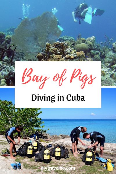 Diving in the Bay of Pigs Cuba
