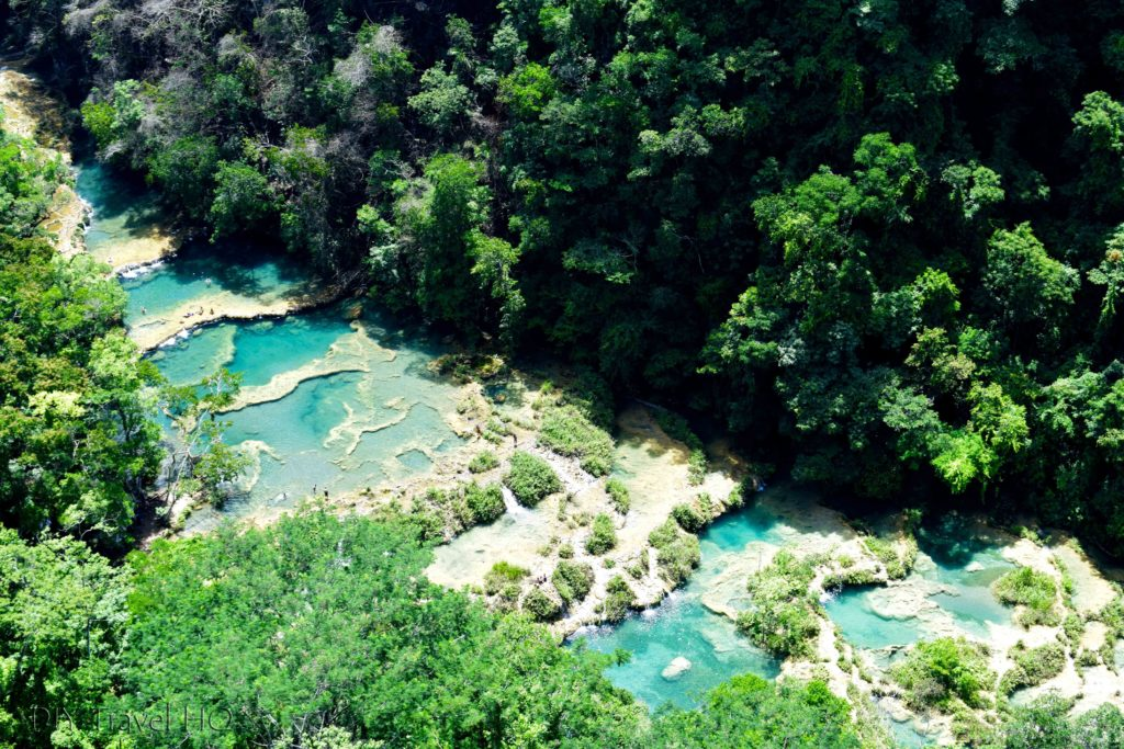 Semuc Champey places to visit in Guatemala