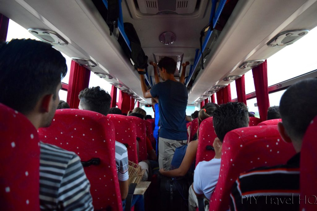 Bus from Jatibonico to Ciego de Avila