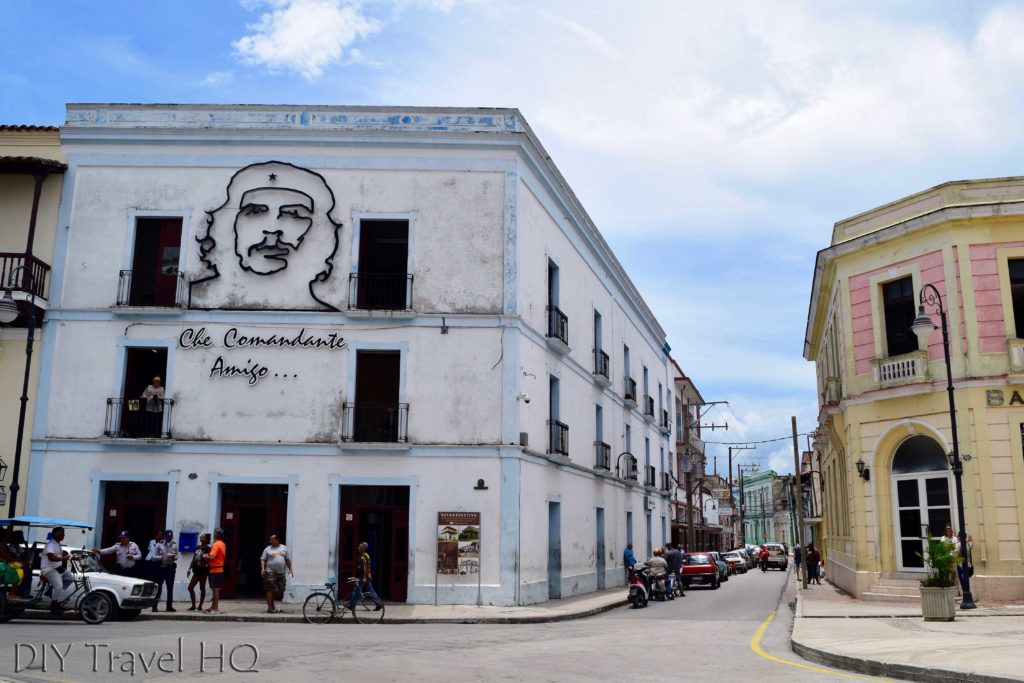 Che mural Camaguey