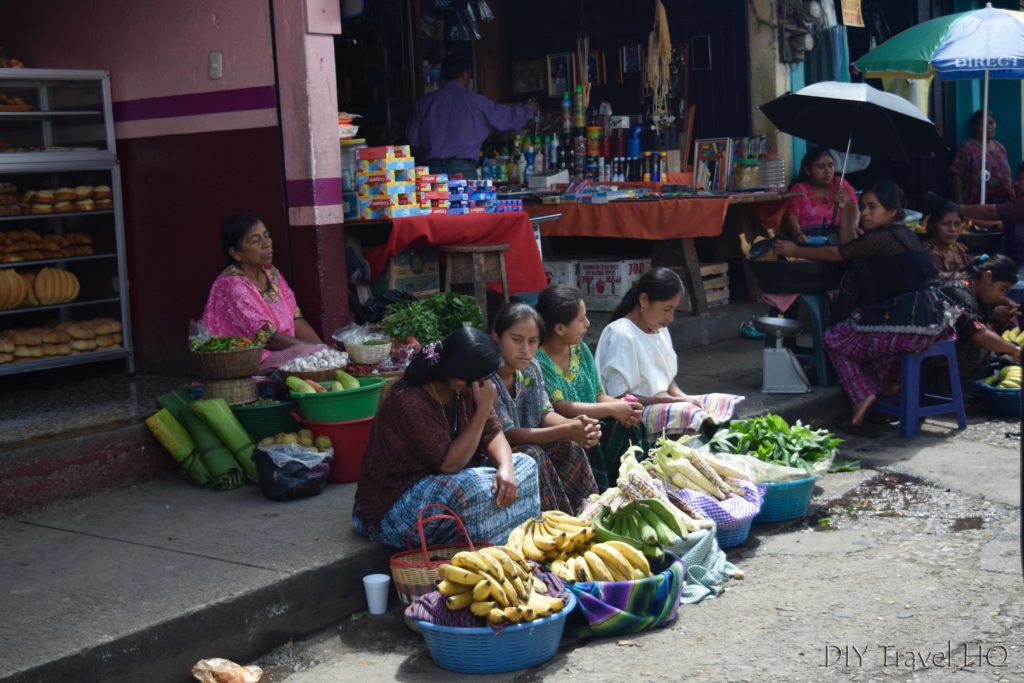 Coban Mercado Central Vendors