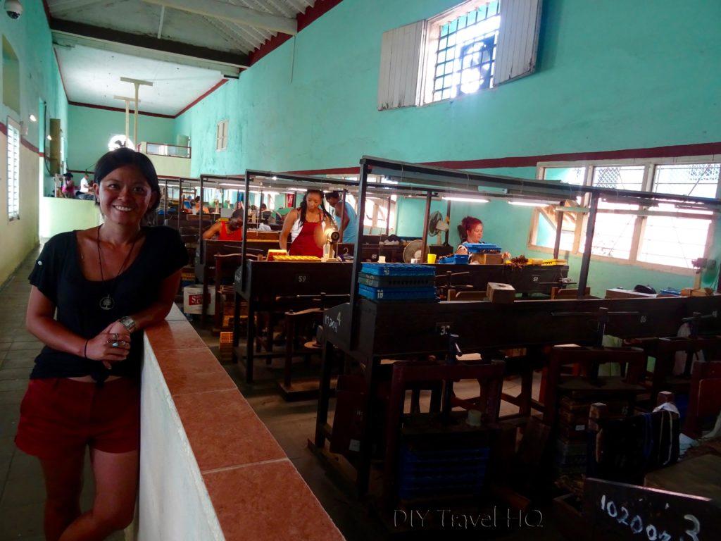 DIY Travel HQ at Pinar del Rio cigar factory