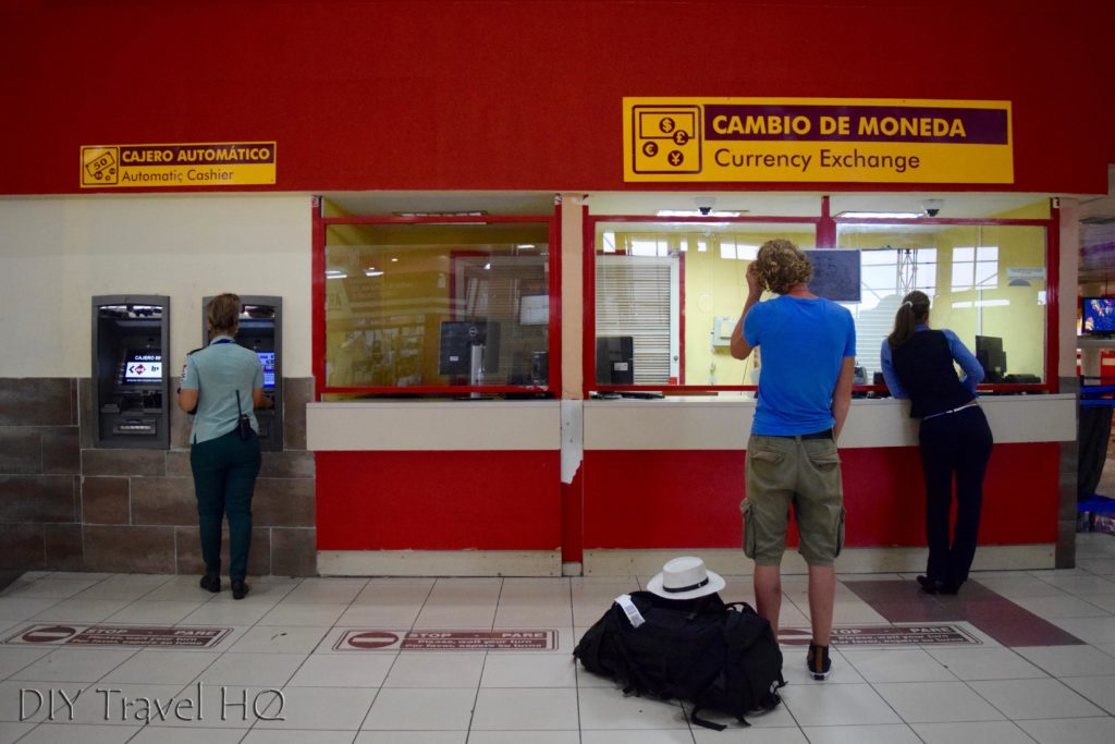 Havana Airport currency exchange