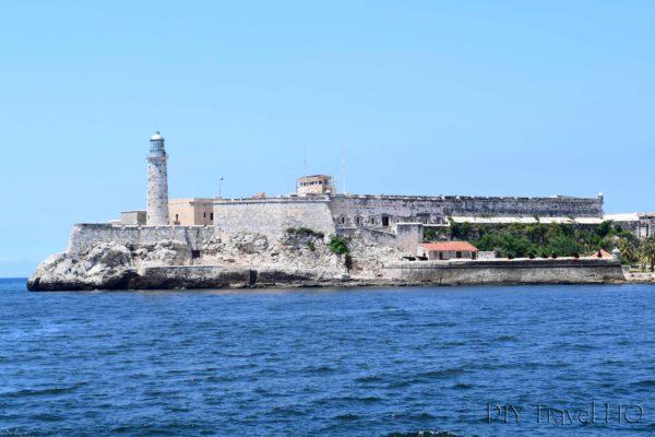 Havana Parque Historico Militar Morro-Cabana Castillo de los Tres Santos Reyes Magnos del Morro View from Old Havana