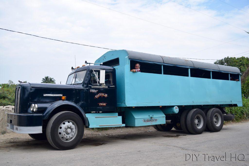 Camion truck VInales Cuba