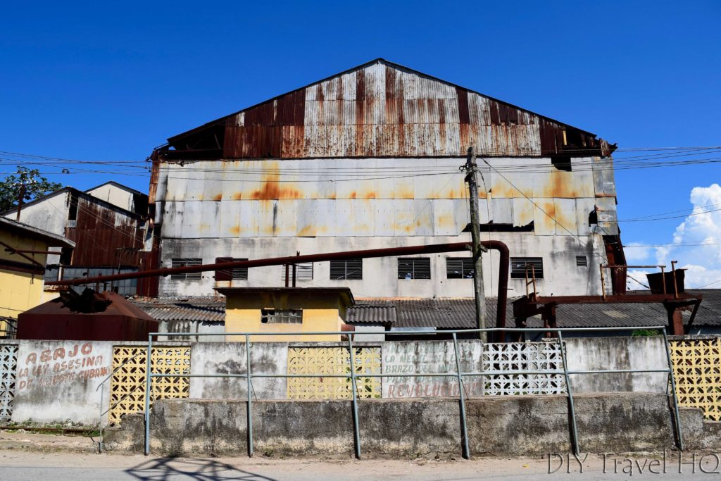 Dilapidated Hershey Chocolate Factory Building