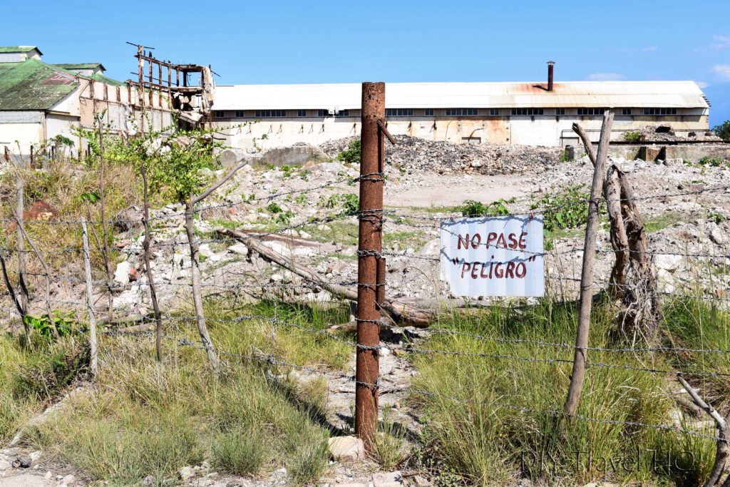 Danger Sign around Hershey Factory