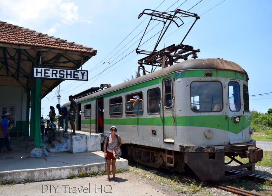 DIY Travel HQ at Hershey Train Station in Central Camilo Cienfuegos
