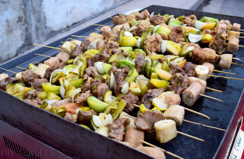 Chicken & Pork Brochetas Las Tunas