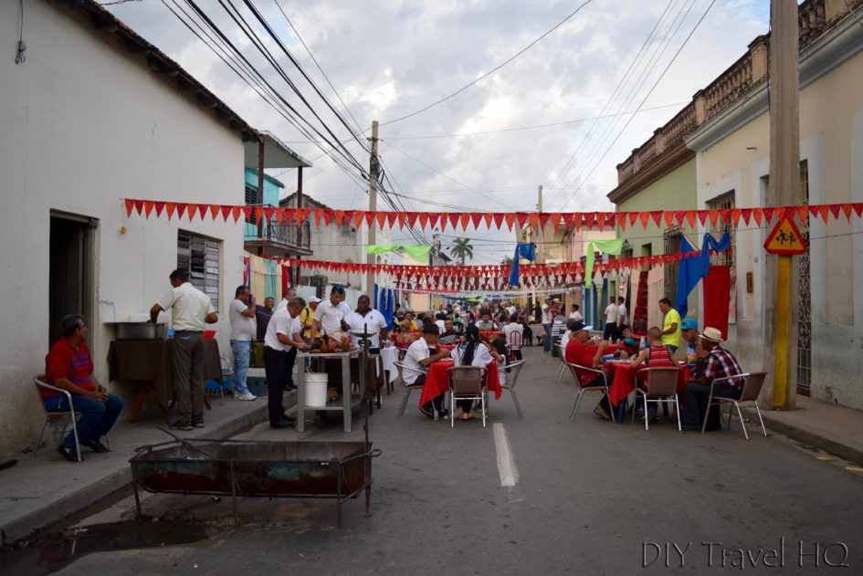 Las Tunas Street Party Cuba