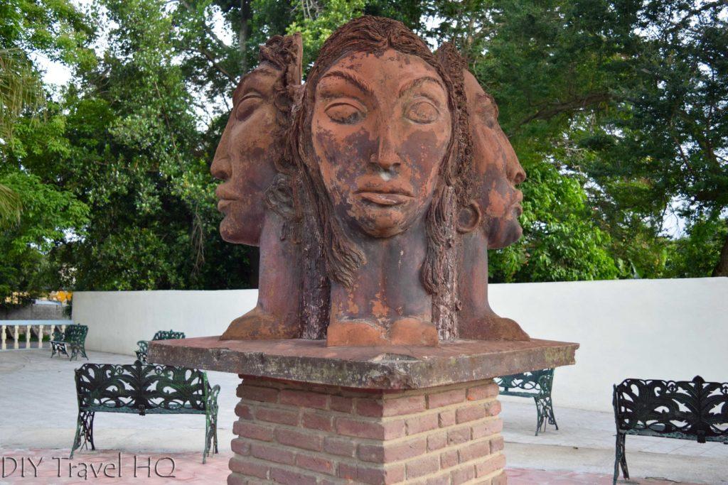 Quirky sculpture in Las Tunas Cuba