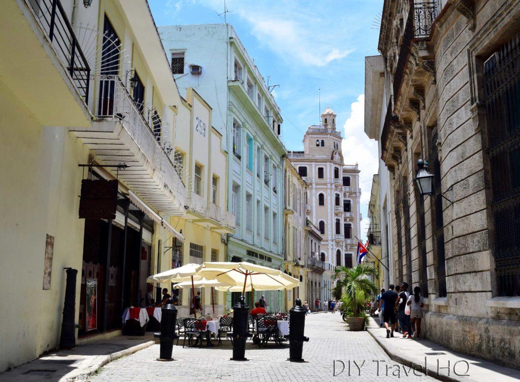 Old Havana Calle Mercaderes