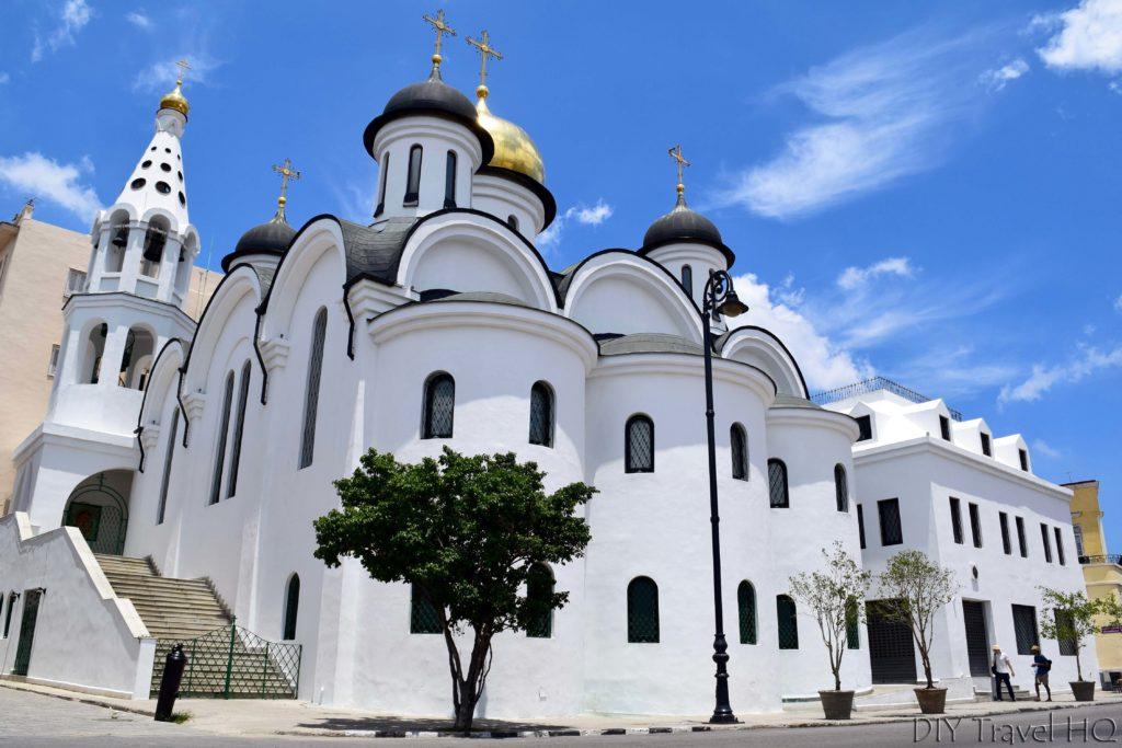 Old Havana Catedral Ortodoxa Nuestra Senora de Kazan