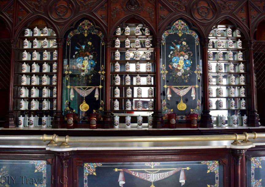 Old Havana Museo de la Farmacia Habanera Medicinal Urns