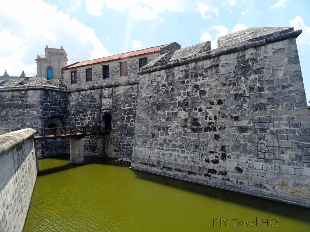 Old Havana Plaza de Armas Castillo de la Real Fuerza Moat and Drawbridge