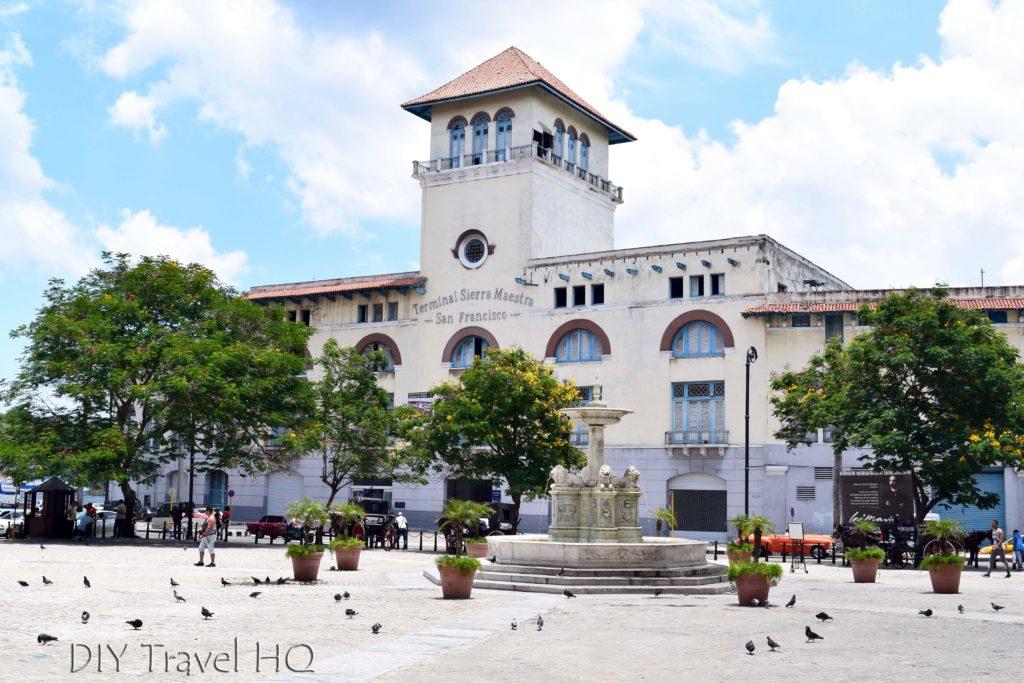 Old Havana Plaza San Francisco de Asis Terminal Sierra Maestra