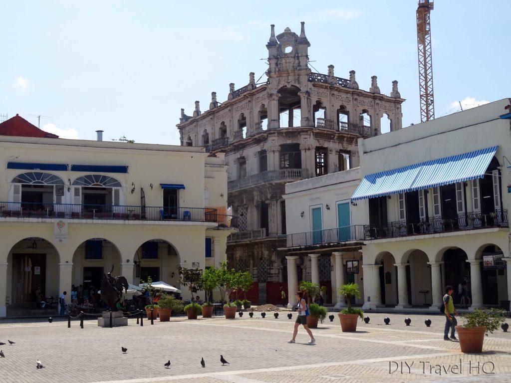 Old Havana Plaza Vieja Palacio Cueto