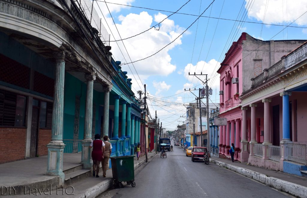 Colourful streets of Pinar del Rio