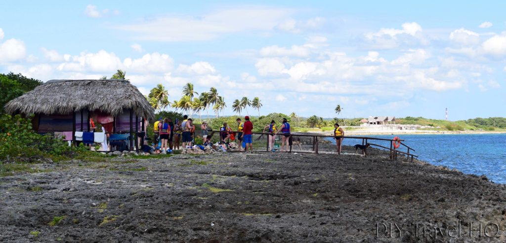 Playa Coral Flora and Fauna Reserve Snorkeling Entrance Walkway