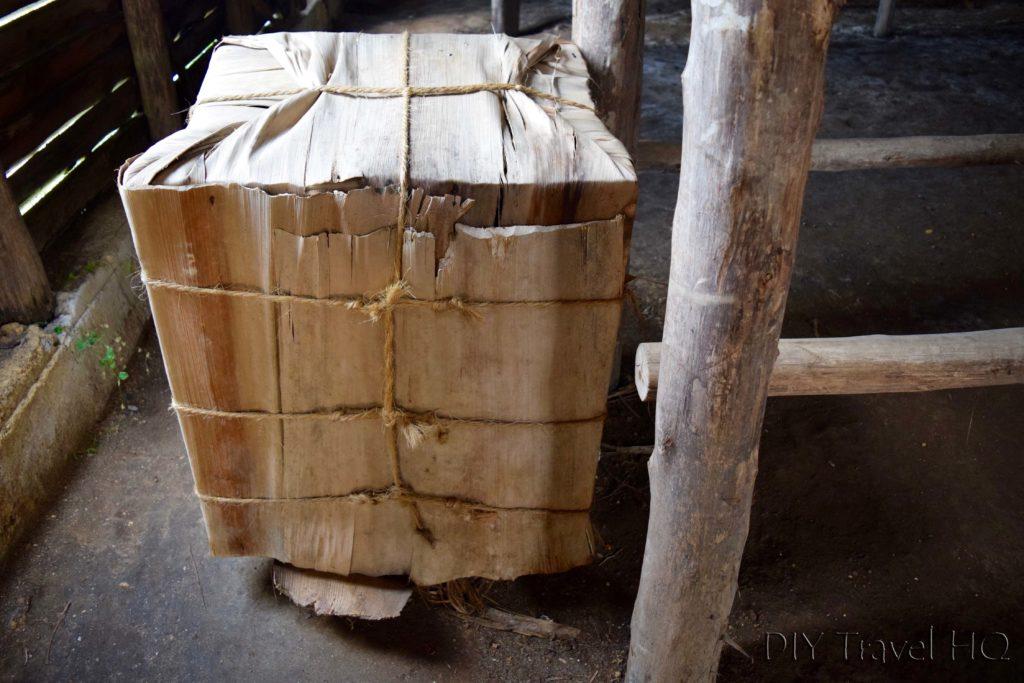 Tobacco storage box sent to Government