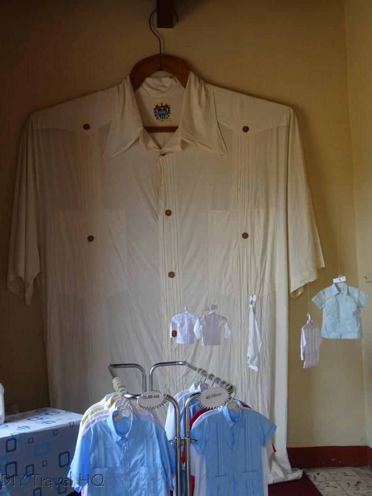 Sancti Spiritus World's Largest Guayabera Shirt