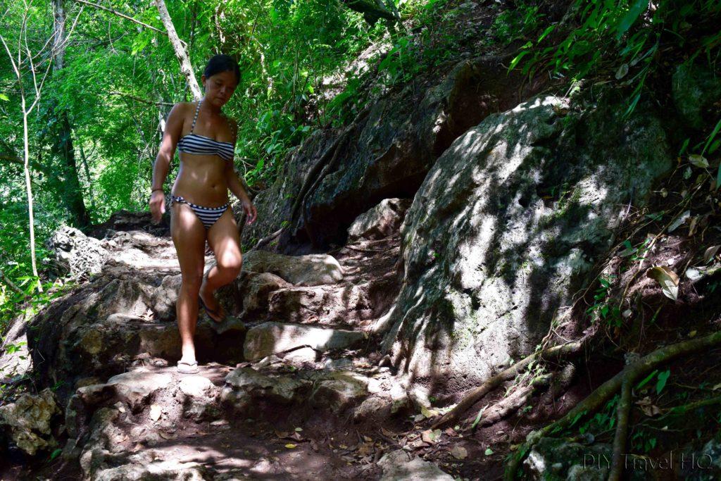 Semuc Champey Mirador Steep Hike