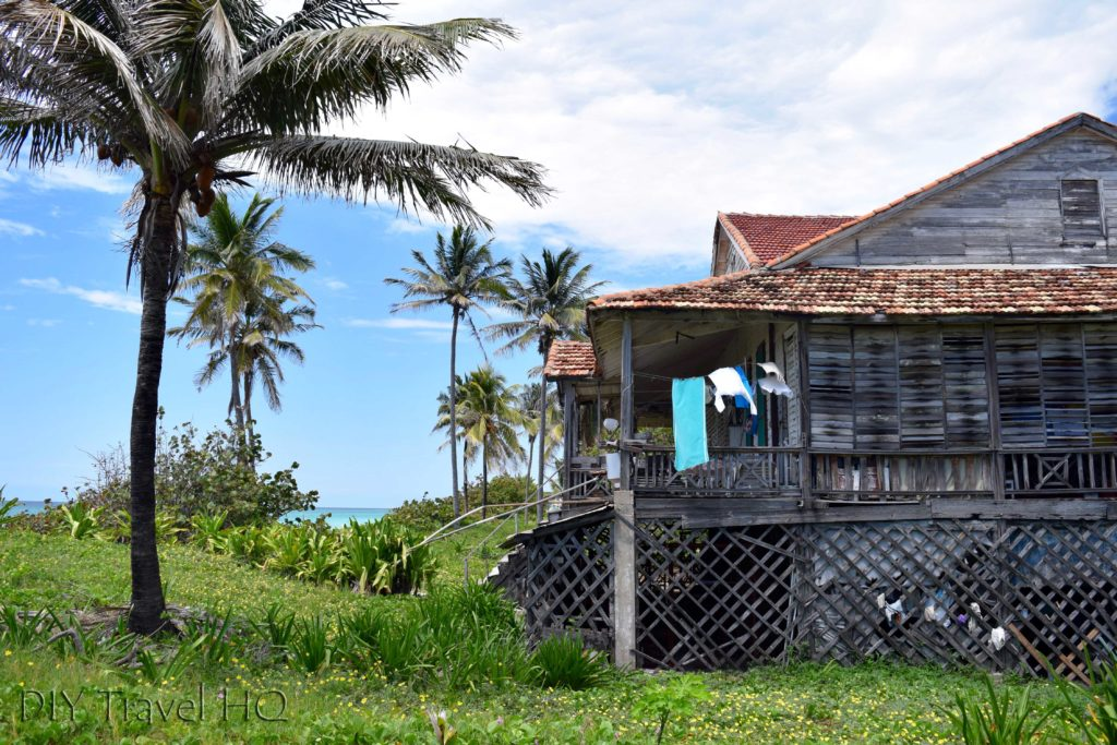 Rustic beach shack on Varadero