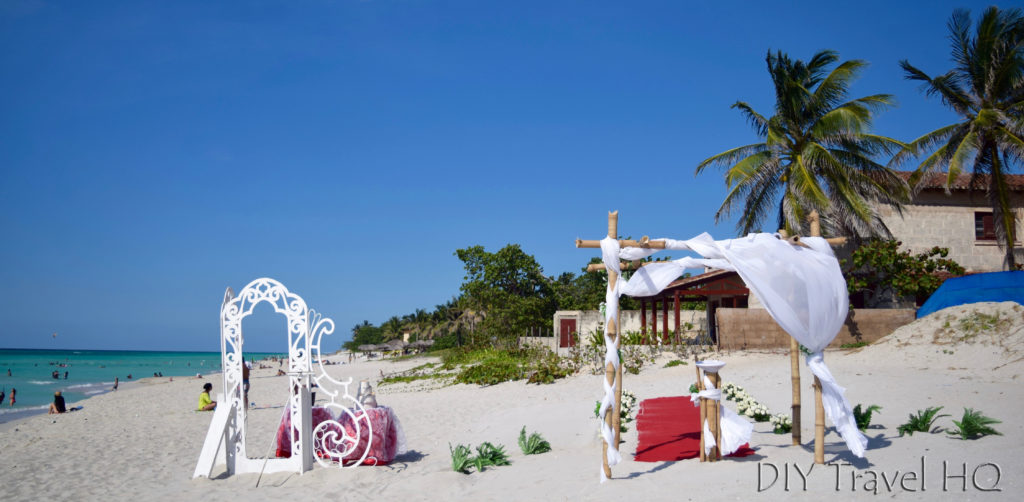 Varadero Beach wedding