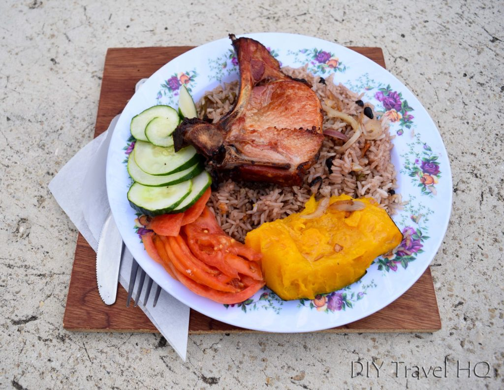 Varadero beach street food
