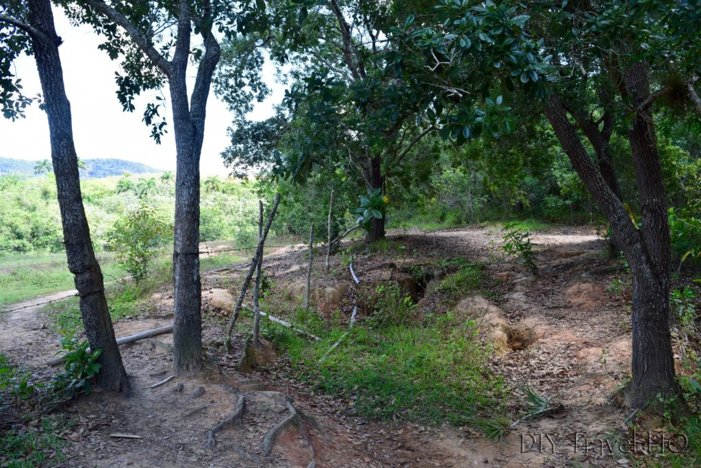 Hiking path in Vinales