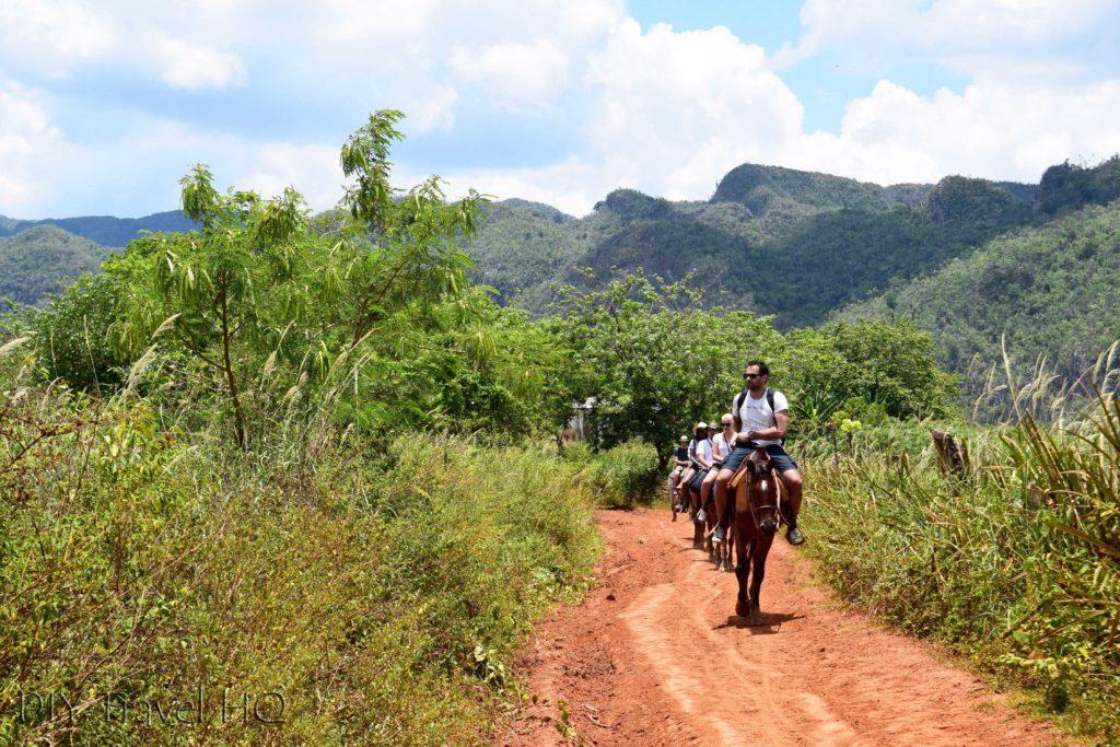 Horse riding in Parque Nacional Finales