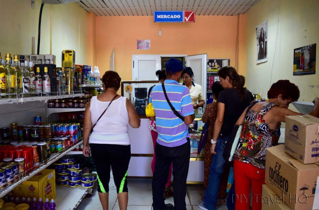 People in store in Vinales