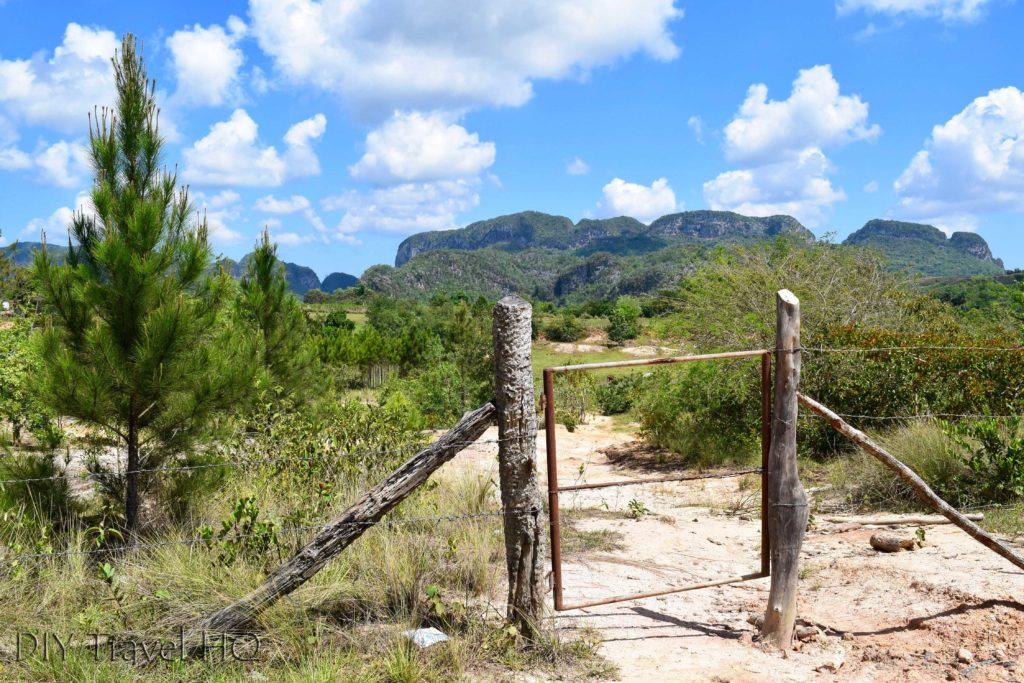 Valle de Silencio Entrance