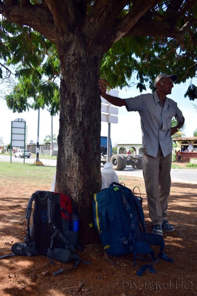 Waiting for Trinidad to Sancti Spiritus Transportation
