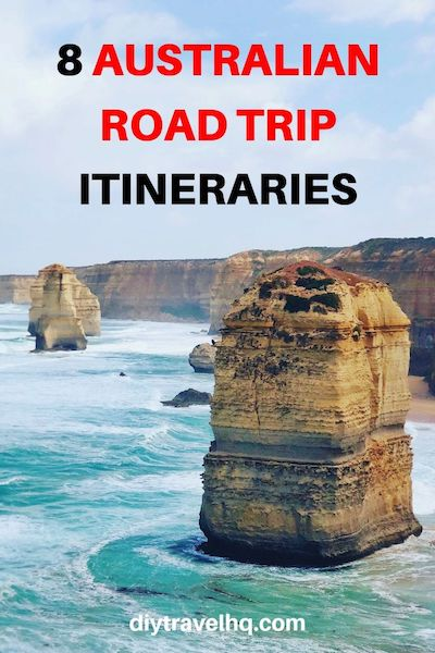 Planning an Australian road trip? We have the top 8 Australian road trip itineraries from the West to the East Coast. Check out our Australian road trip tips and start planning your travels! #australiatravel #australia #roadtrip #diytravel