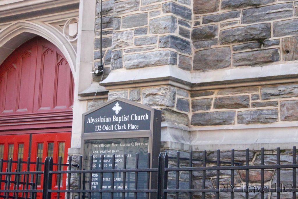 Abyssinian Church Harlem