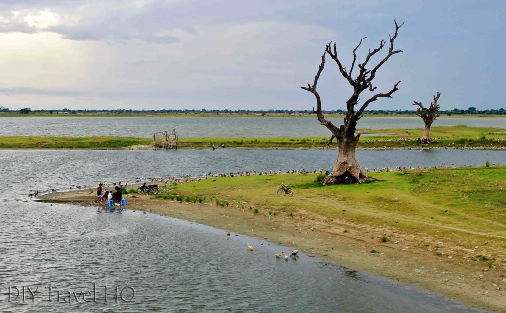 U-Bein Bridge Landscape