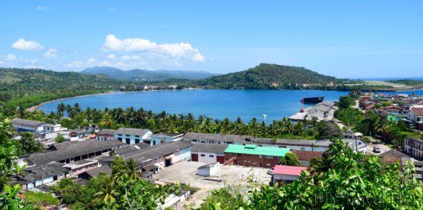 View of Baracoa Bay