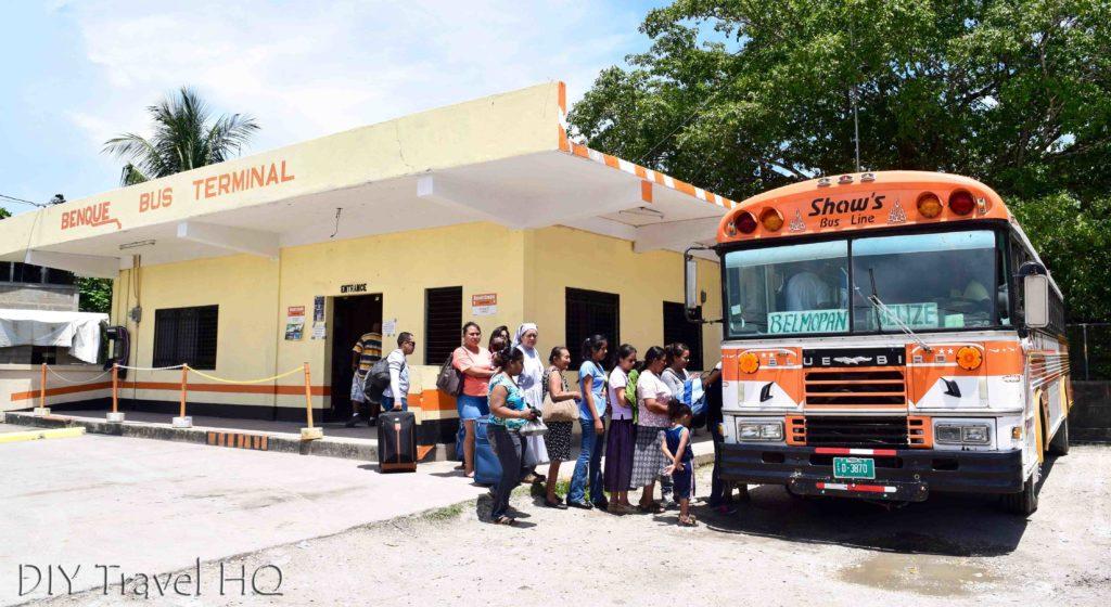 Benque Belize Bus Terminal