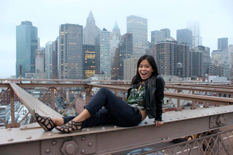 Me on Brooklyn Bridge