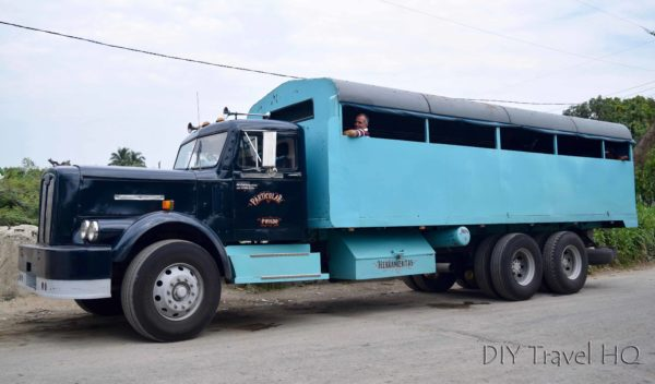 Camion Truck in Cuba