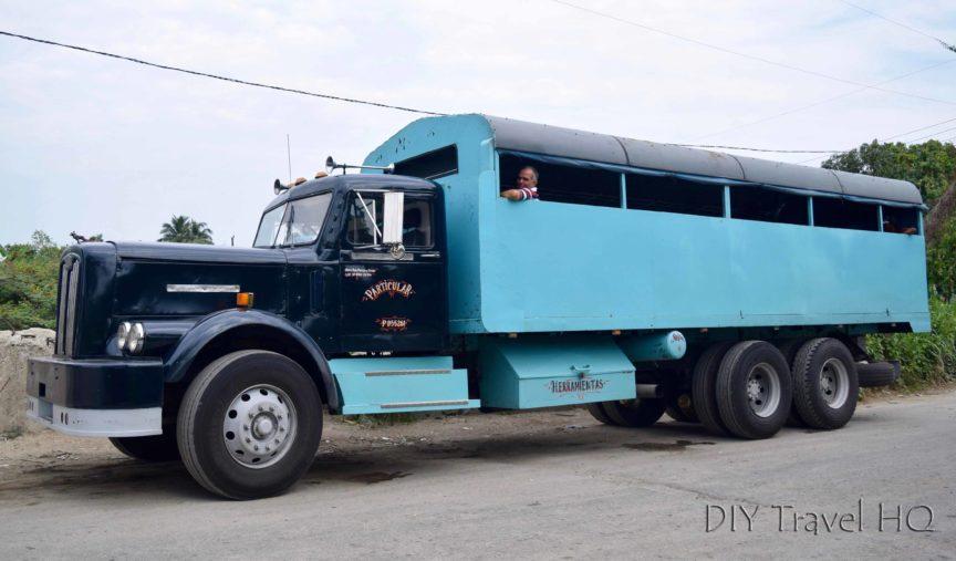 Camion Truck in Cuba