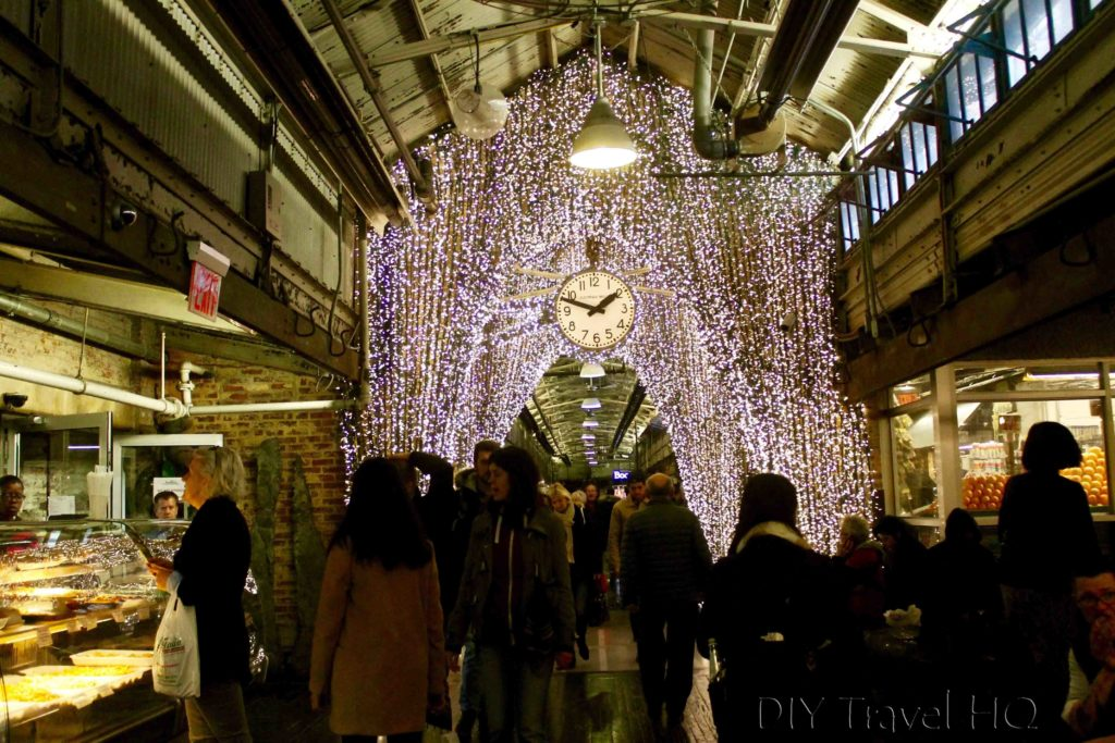 Chelsea Market at Christmas time!