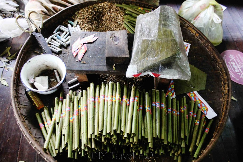 Burmese cigars or cheroots