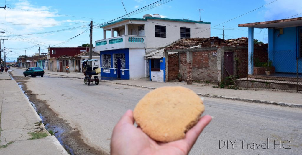 Cookies for 1 peso in Cuba