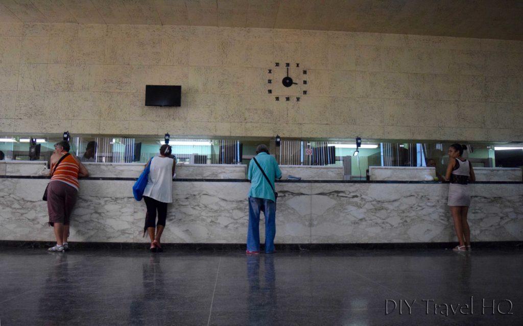 Bank in Cuba