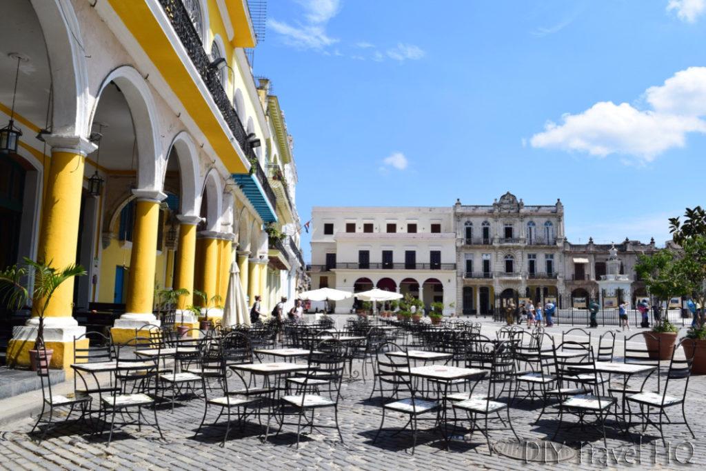 Tourist restaurant in Old Havana