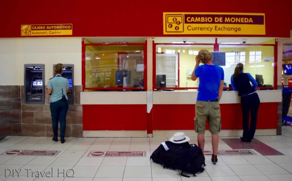 Cuba's Dual Currency Airport CADECA and ATM