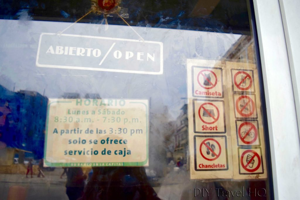Cuba's Dual Currency Bank Dress Code